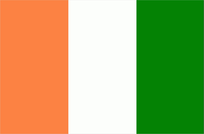 Bandera de Costa de marfil