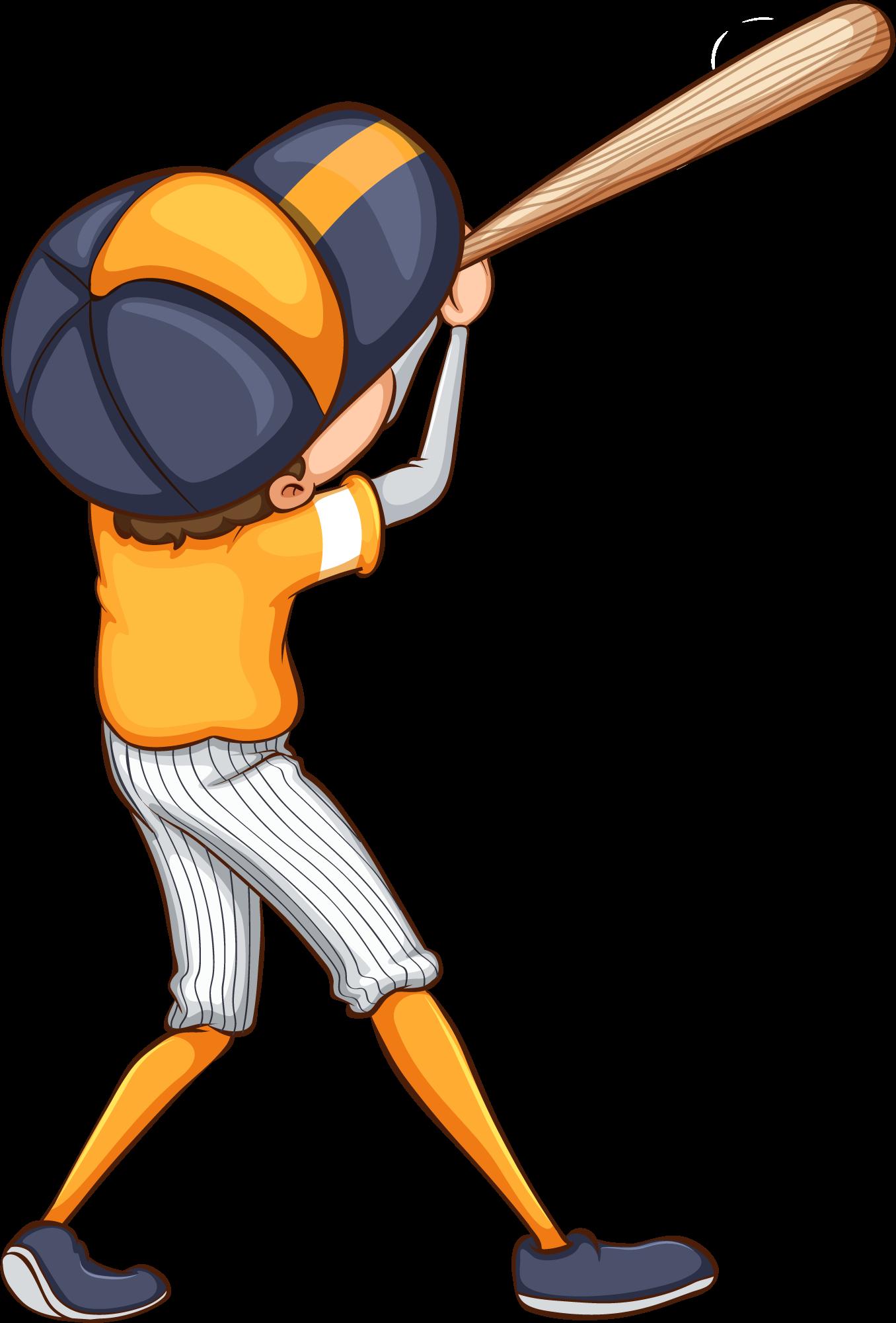 Bateador equipo naranja