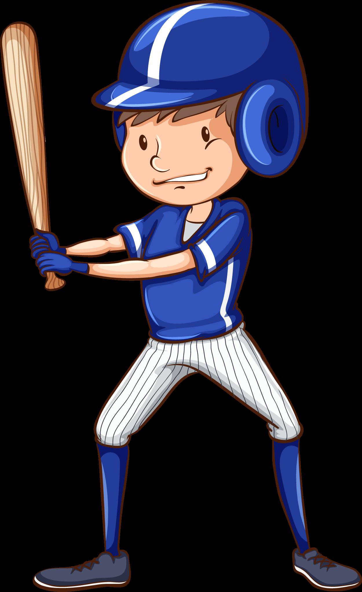 Béisbol equipo azul