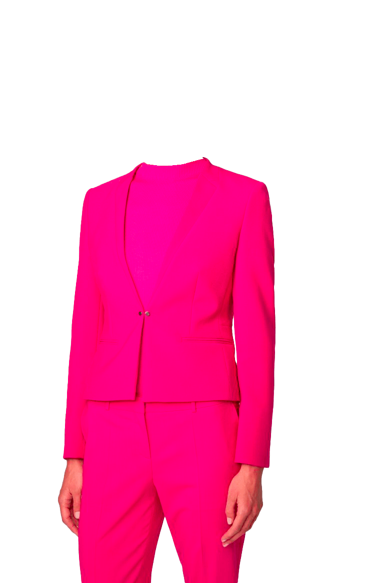 Chaqueta dama rosa