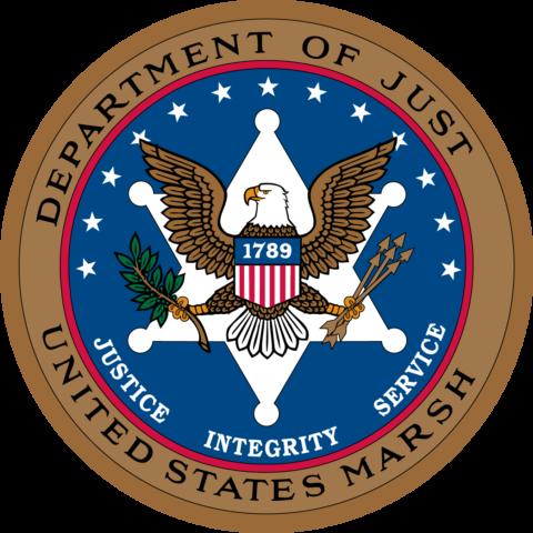 Departamento de Justicia Estados Unidos