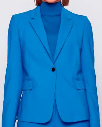Traje dama azul