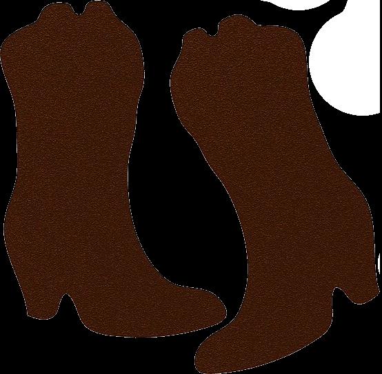 Botas vaqueras marrón