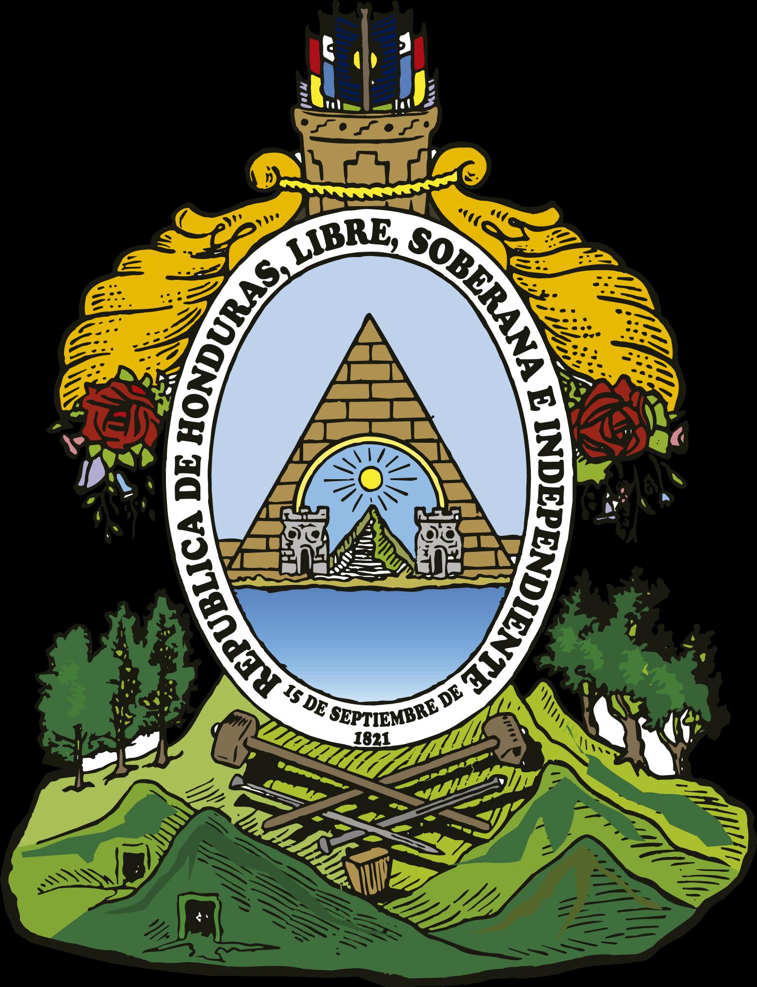 Honduras Escudo Nacional