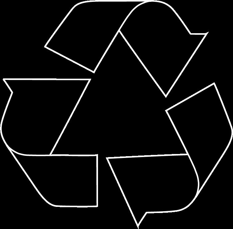 Logo reciclaje negro