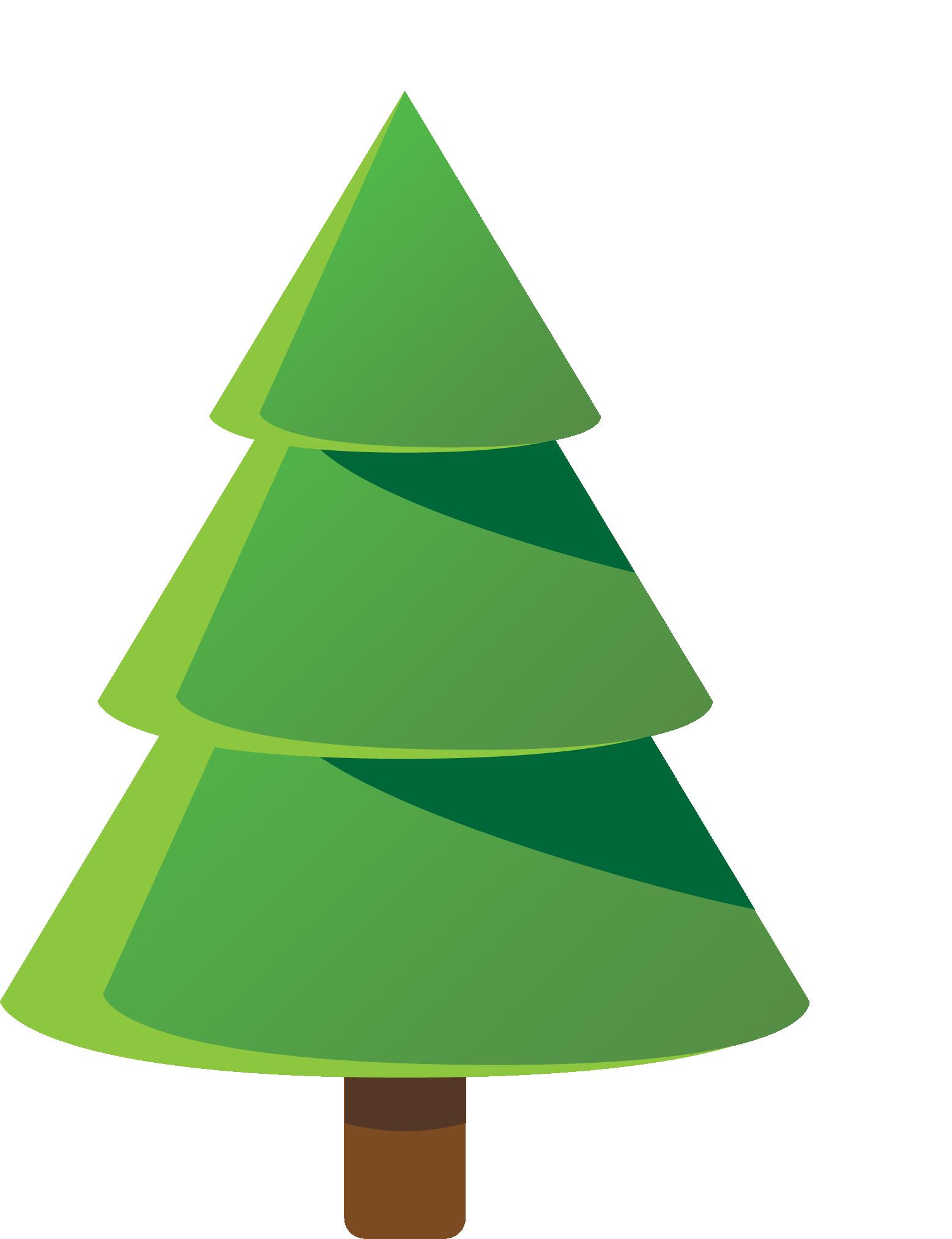 Navidad árbol redondo