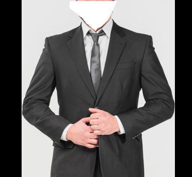 Traje hombre de negocios