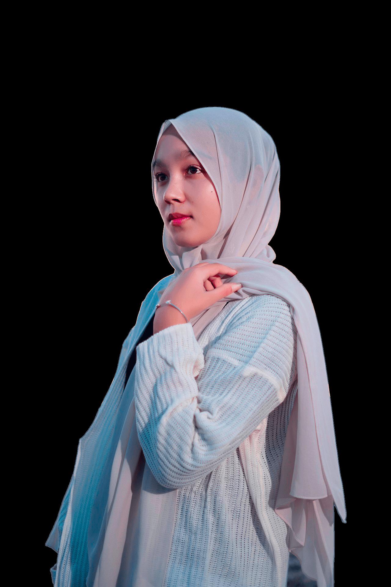 Chica con Hiyab