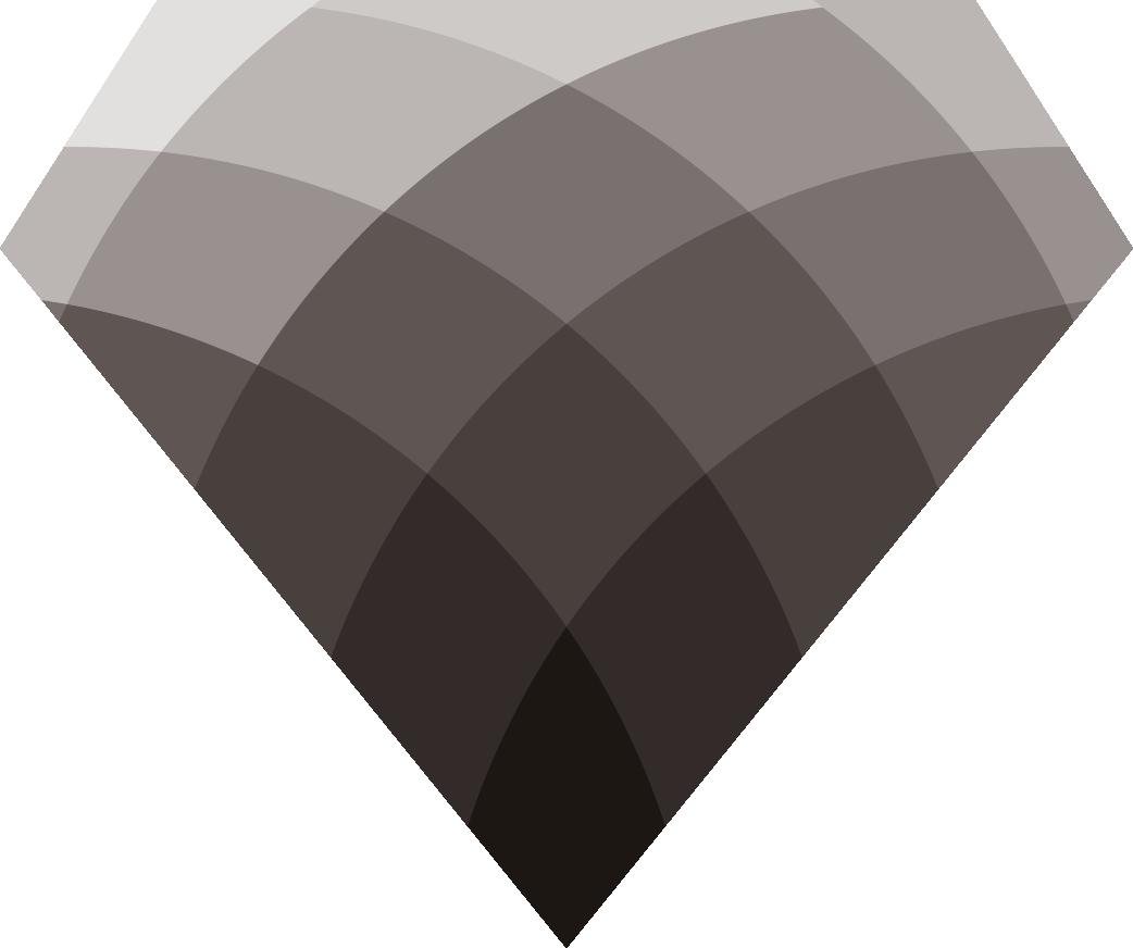 Diamante negro y gris