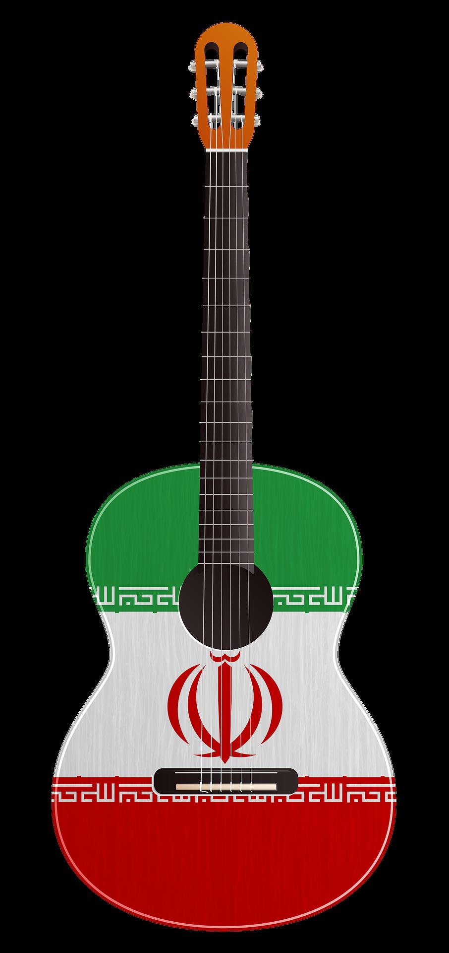 Iraní guitarra