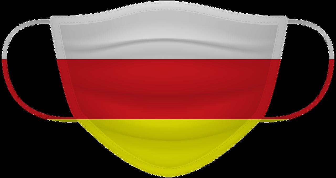 Mascarilla bandera