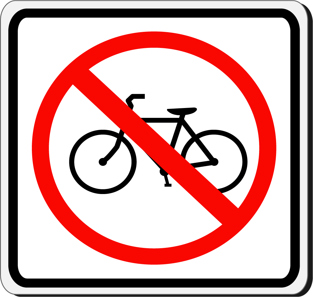 No bicicletas