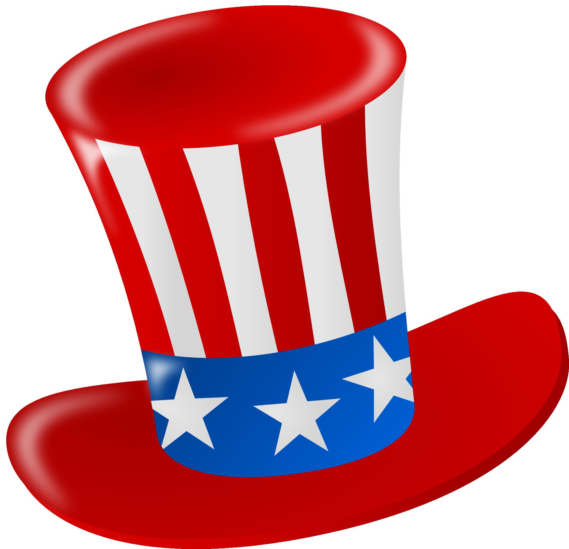 Tío Sam sombrero rojo