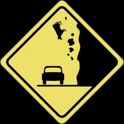 Zona de derrumbes