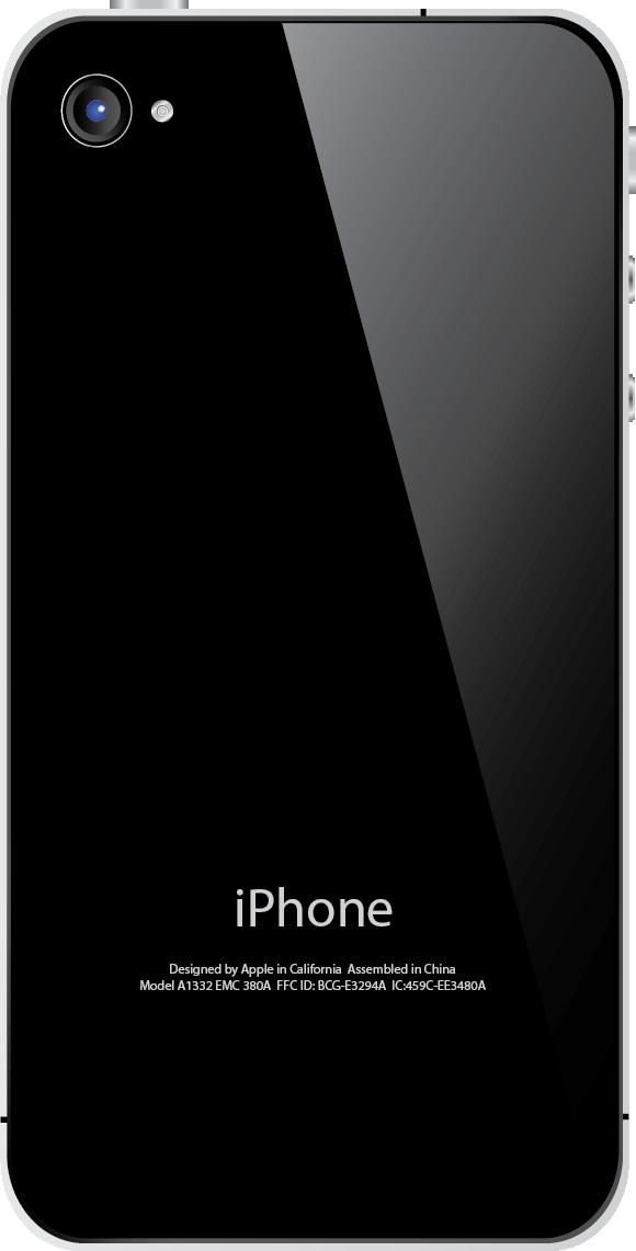 iphone4 parte trasera