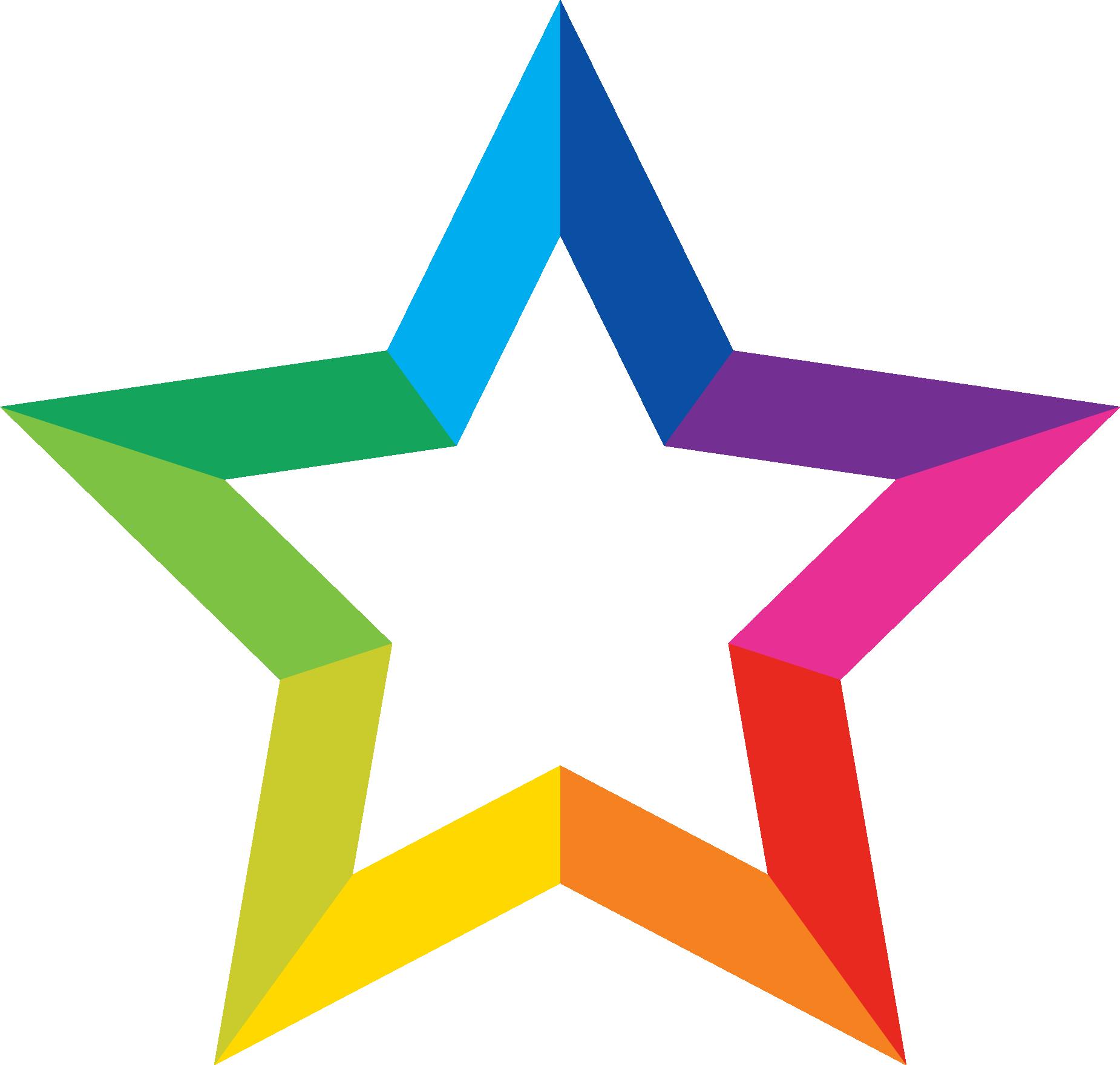 Estrella multicolor