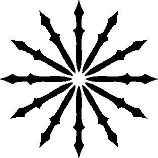 Estrella puntas de lanza