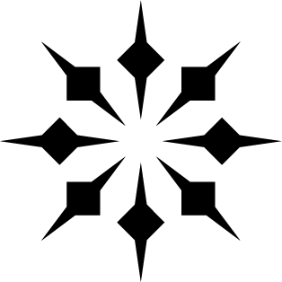 Estrella puntas doble