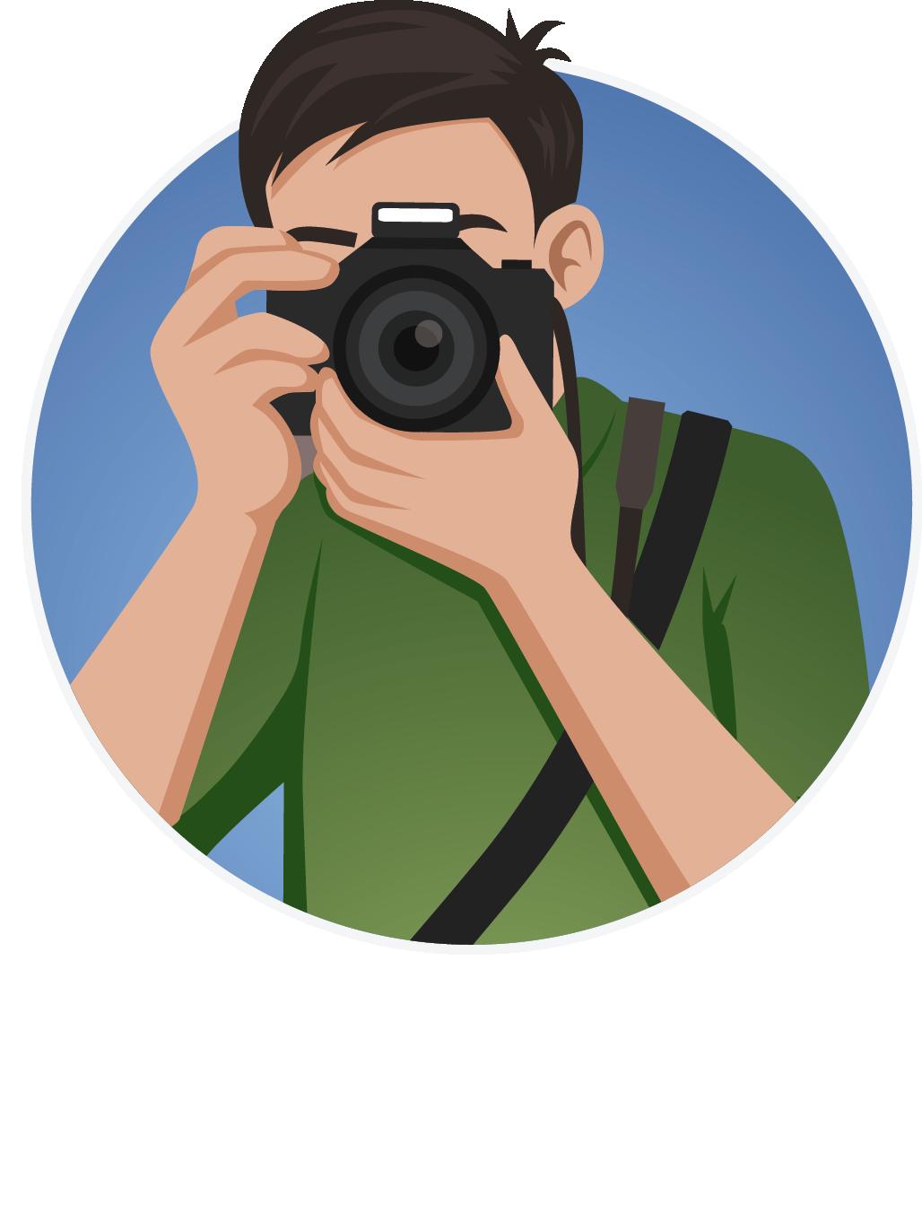 Logo fotógrafo