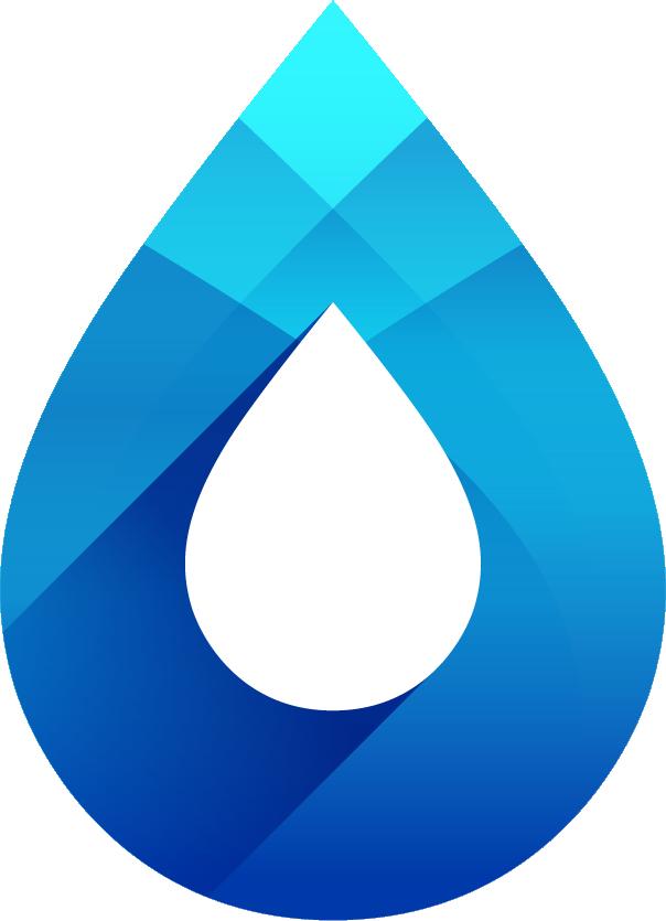 Logo gota de agua
