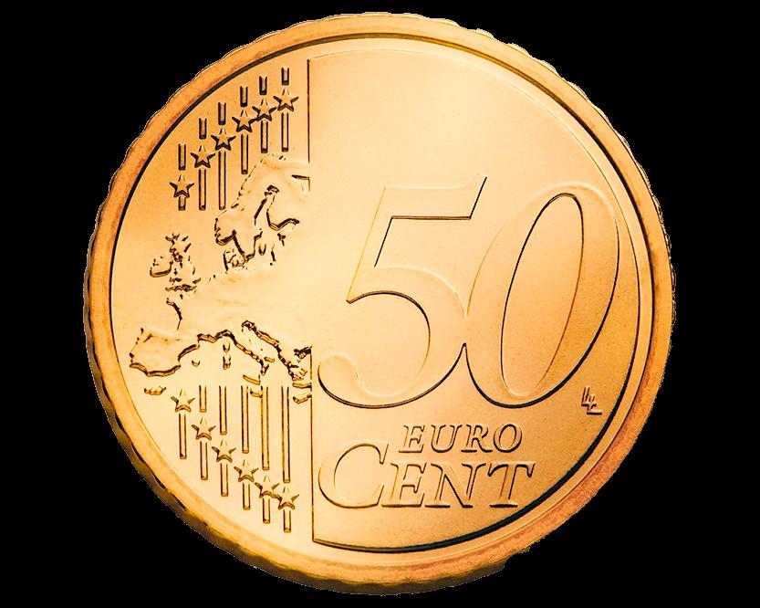 50 centavos euro