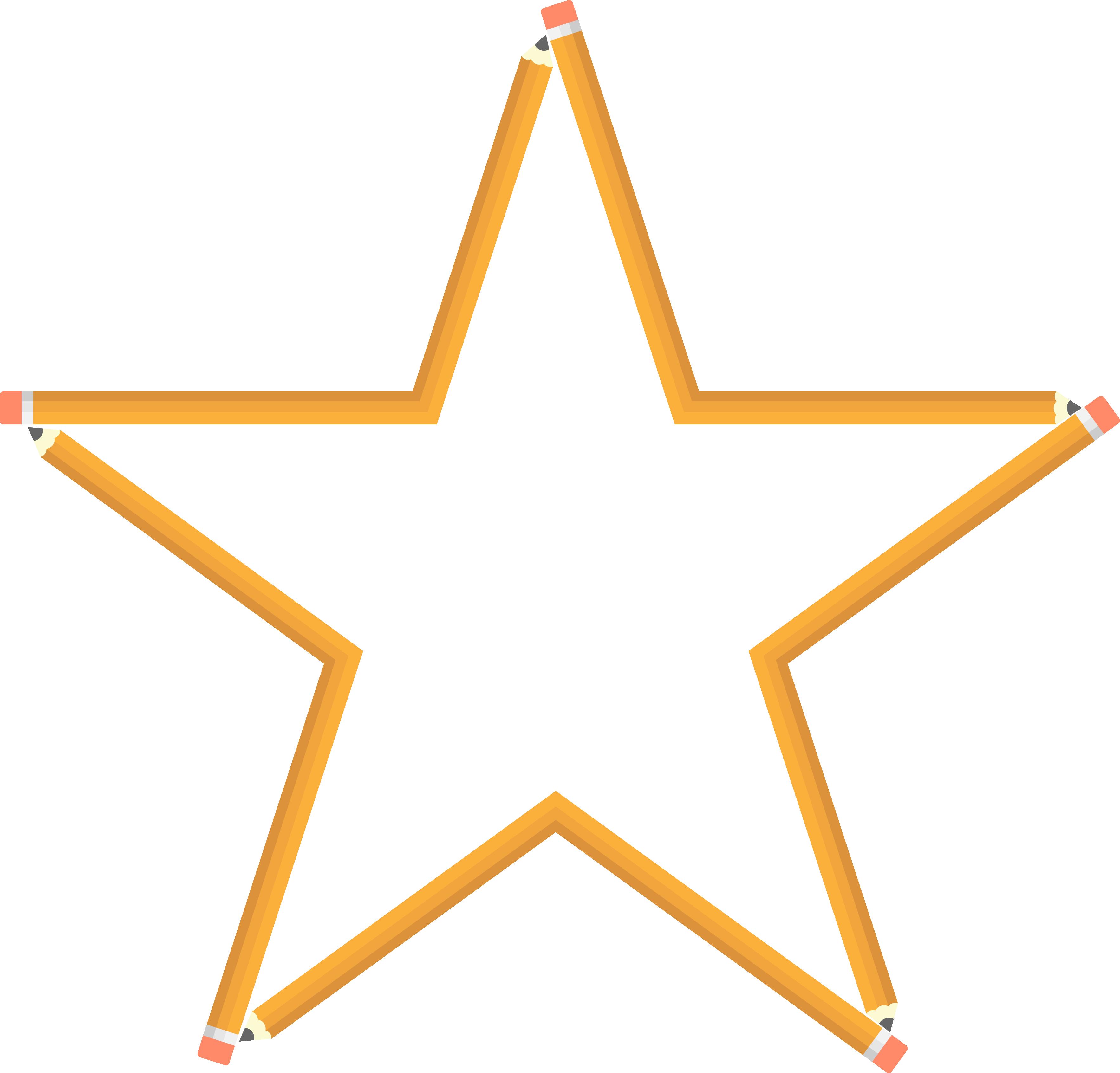 Estrella de lápiz