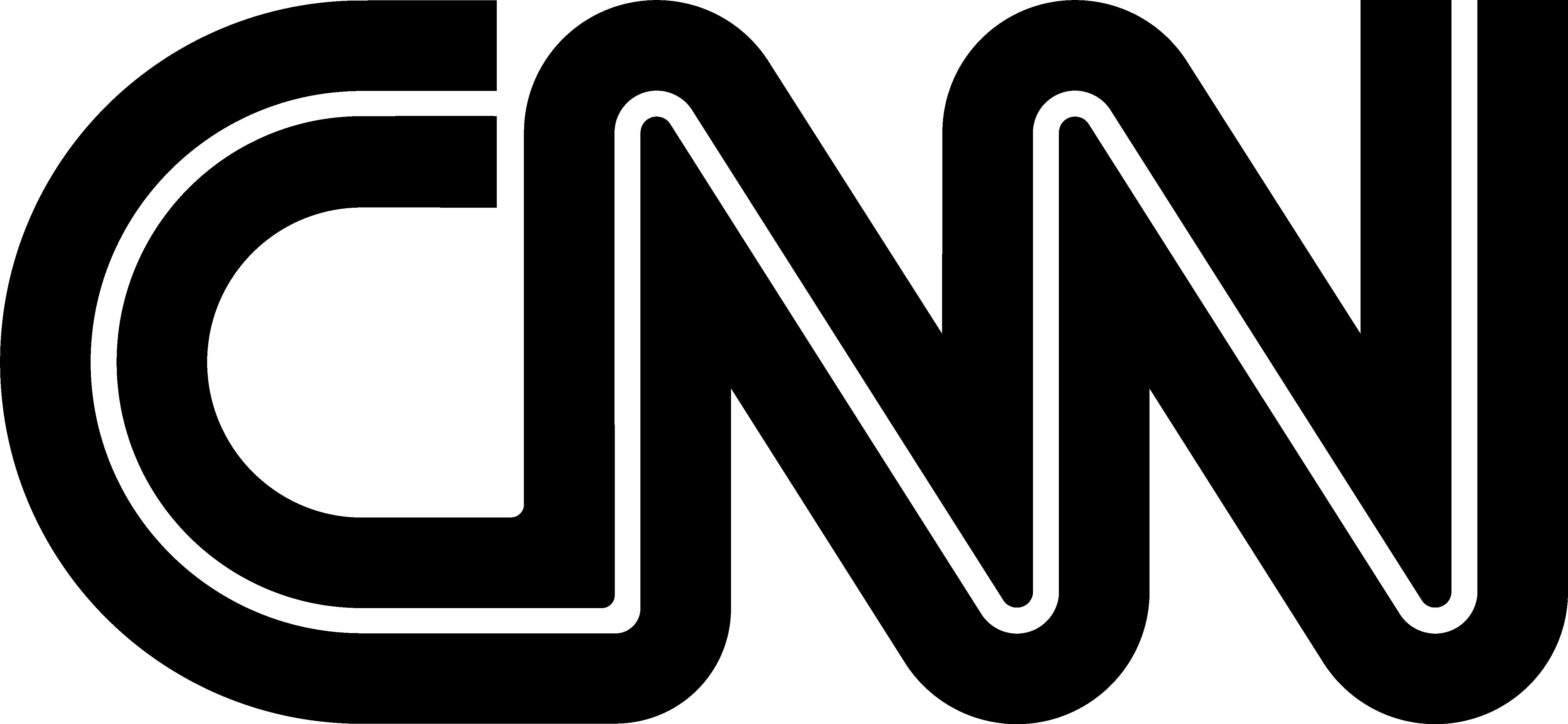 CNN logo negro