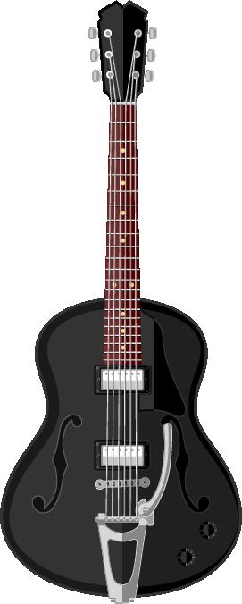 Guitarra grande acústica