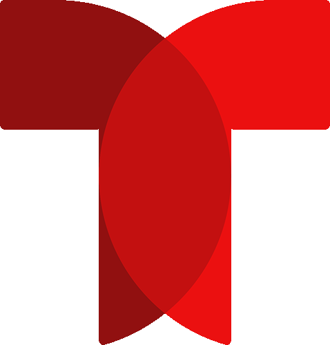 Logo Telemundo rojo