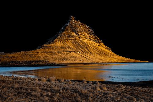 Montaña de Islandia