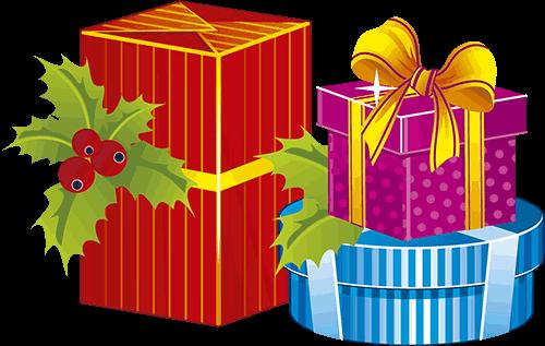 Presentes para navidad