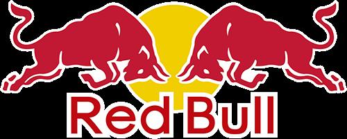 Red Bull logo y letras