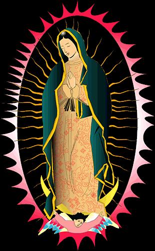 Virgen de Guadalupe color