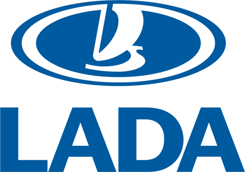 Lada logo y letras
