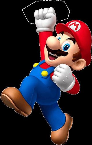 Mario Bross feliz