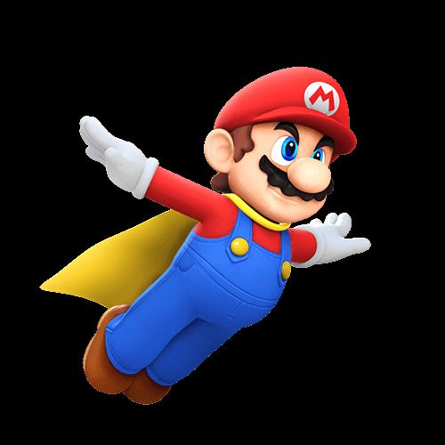 Mario como Superman