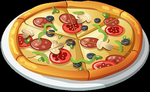 Pizza lista