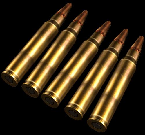 Proyectiles 5.56mm