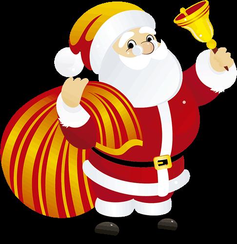 Santa Claus con campana