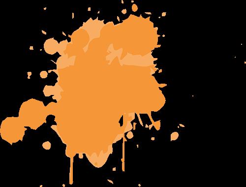 Tinta naranja