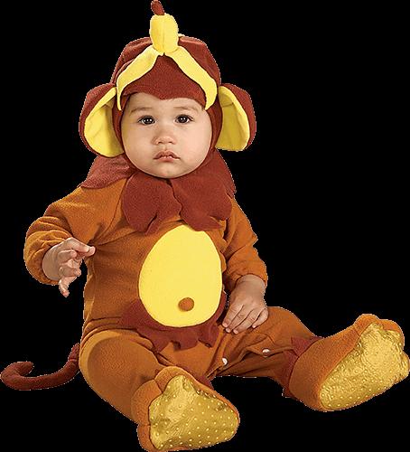 Bebé con traje de elefante