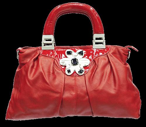 Bolso rojo para dama