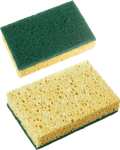 Dos esponjas