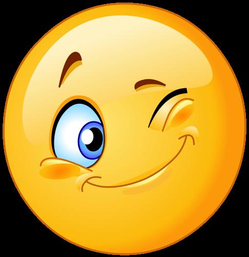 Emoji ojo guiño