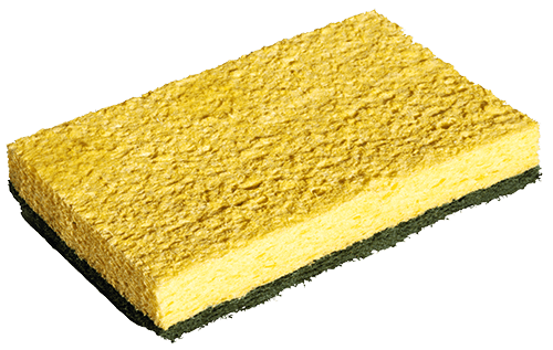 Esponja para fregar trastes
