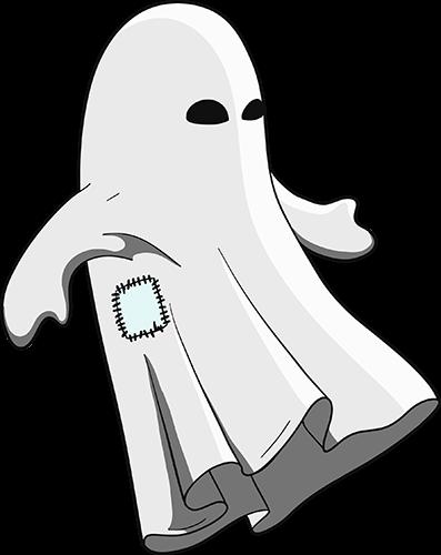 Fantasma con parche
