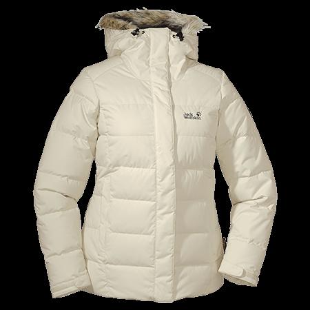 Jacket de color blanco