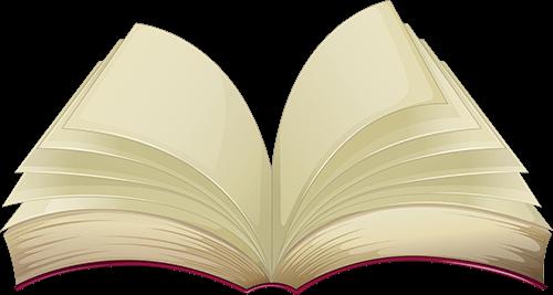 Libro abierto a la mitad