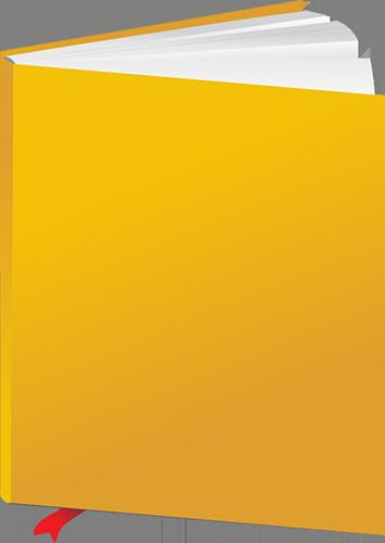 Libro de apuntes color amarillo