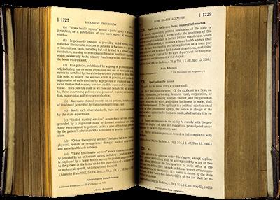 Libro sagrado abierto